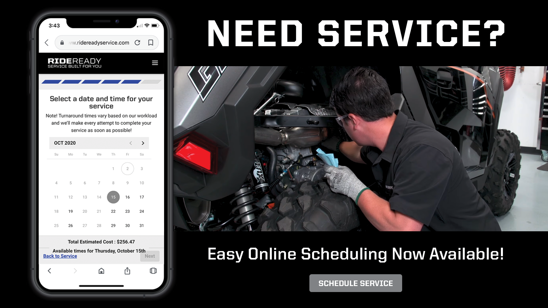 Schedule Your Service!
